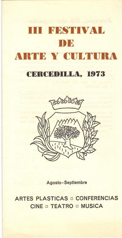 1973 III Festival de Arte y Cultura