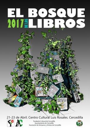 Cartel el bosque de los libros 2017