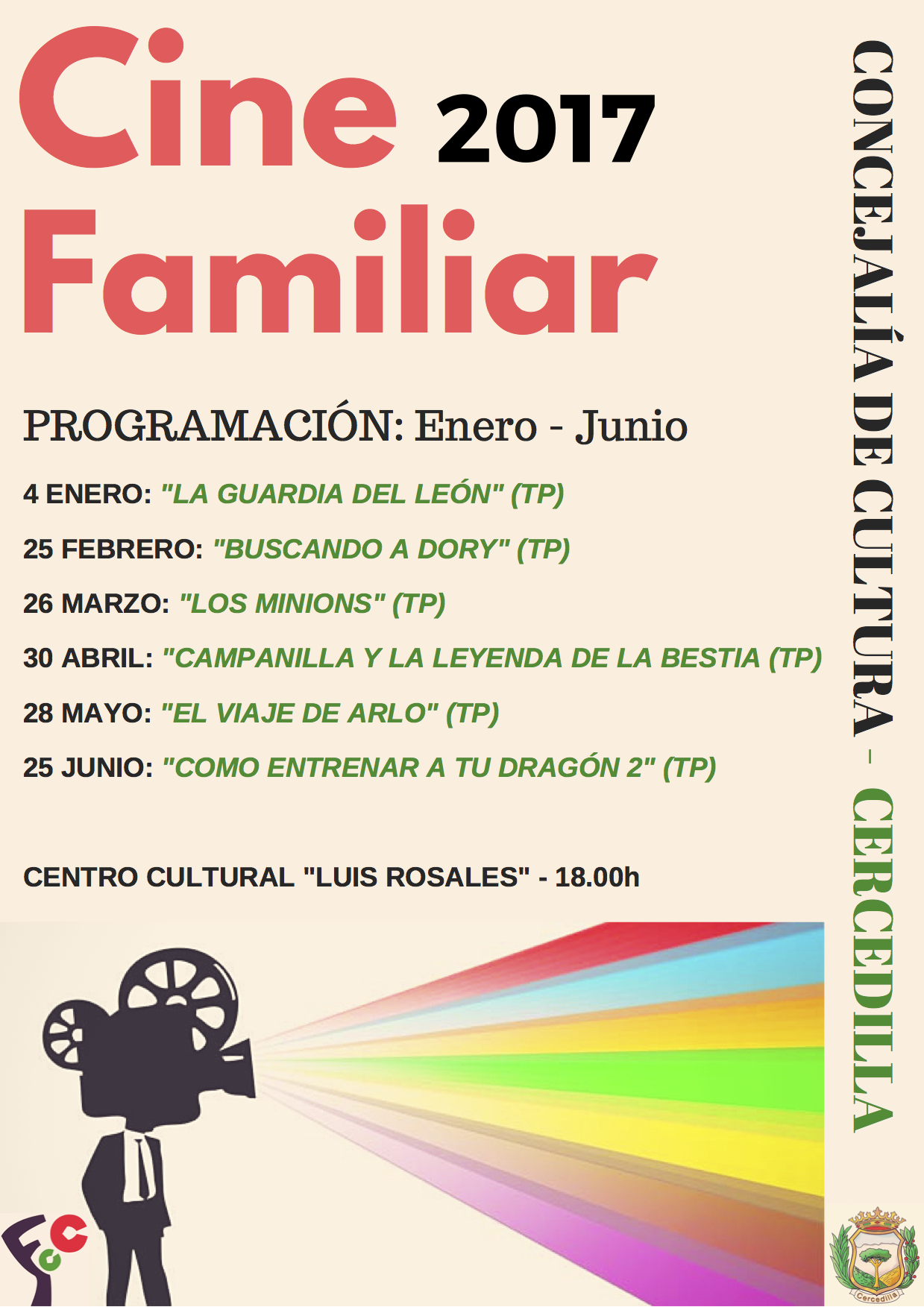 CINE FAMILIAR_Cartel